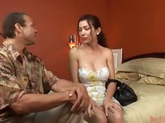 Transsexual Fun With Her Horny Lover