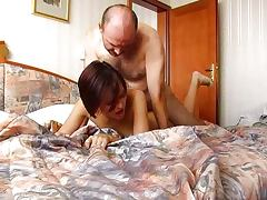 Old Man Cums Inside Annas Tight Czech Pussy tube porn video