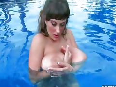 Big boobs solo porn tube video