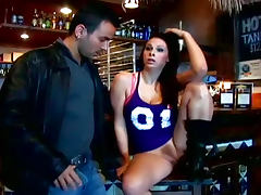 Gianna Michaels fucked on the bar
