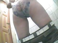 Female toilet spy camera 02