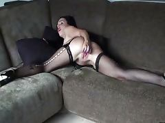 Angelina Masturbates With A Dildo