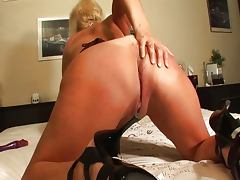 Mature Woman and Her Dildo