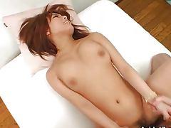 Busty girl Arisa Minami nailed hard