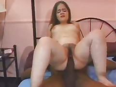Midget takes a cock half her size tube porn video