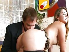 Allie Haze and Evan Stone tube porn video