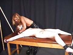 Boots, Boots, Femdom, Fetish, Peeing, Spanking