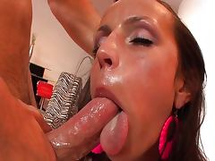 Ass To Mouth, Ass, Ass To Mouth, Brunette, Couple, Cumshot