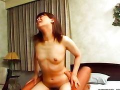 Hairy pussy babe Mai Mariya fucked