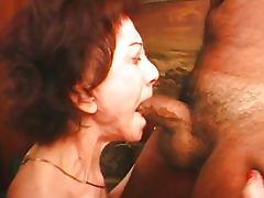 Group sex grannies suck black dicks with love