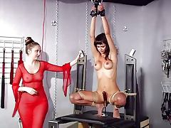 Bondage femdom machine games tube porn video