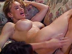 Fetish spanking lesbian babes
