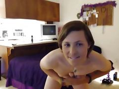 Beautiful TS Sienna is toying around and cum