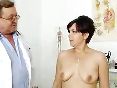 Redhead madam internal piss hole medical tool exam tube porn video