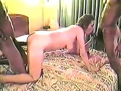 Slut Housewife Fucks Tony Duncan and Another Bro