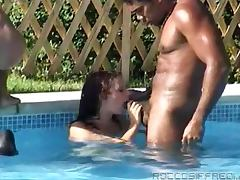 Amazing Pool Sex Scene With Some Kinky Blonde Bitches