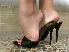 Feet, Cunt, Feet, Masturbation, Pussy, Shaved Pussy