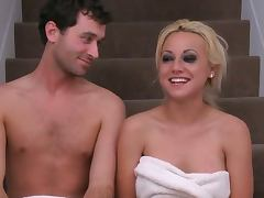 James deen and blonde babe hardcore tube porn video