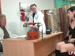Amateur babe for a doctor's exam in france porn tube video