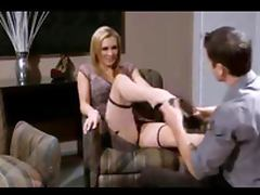 Hot sex with sexy blonde