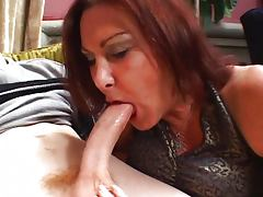 She found herself a young dick