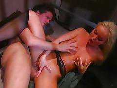 Blond banged hard behind bars tube porn video