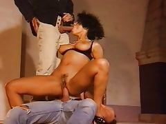 Dalila Marocan milf fucked by two Bad Boys