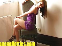 Teen Vendula comes to her 1st casting EVER wi
