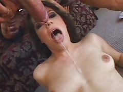 Bobbi Starr loves gagging blowjob