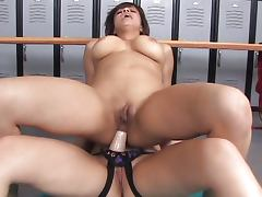 Horny girls in changing room porn tube video