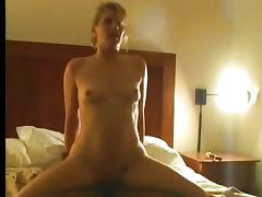 Sweet blonde fucked