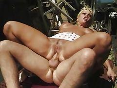 Trailer Trash Girl fucked by 2 Nasty Boys