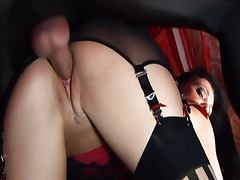Aletta Ocean welcomes you to the dollz house tube porn video