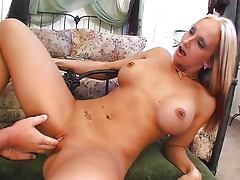 Chick with piercings getting it on