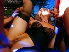 Italian MILF and two guys tube porn video