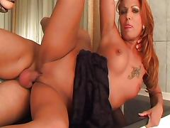 Redhead wants to bang tube porn video