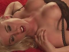 Kennedy James Is a Real American Babe That Likes To Strip