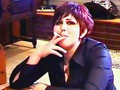 Goth girls smoking in fetish video tube porn video