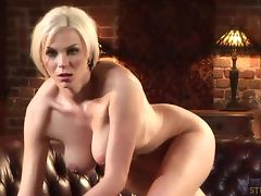 Smoking hot blondie Jody Mansfield plays with your sexual desires