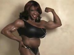 Black muscles tube porn video