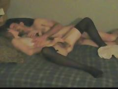 wife rubs herself to a squirting orgasm