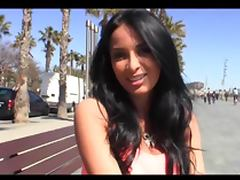 Anissa Kate beautiful brunette in Spain