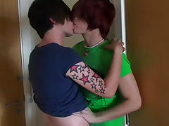 Sexy redhead Deano Star sucking cock of Lucas Price