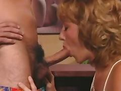 Classic DP hot blonde Nice vintage sex