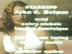 John Holmes one girl at a time tube porn video