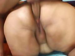 Horny bbw fatty loves cock