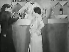 Vintage Porn from the 1930s Girl Girl Guy Threesome tube porn video