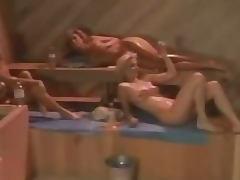 Melanie Moore PJ Sparxx Tianna lesbian threesome