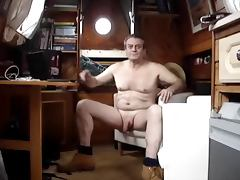 Wanking on a Canal Boat Part 1 tube porn video