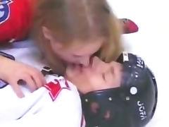 Russian pauline polyanskaya in ice hockey prt 2 tube porn video